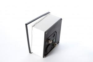 MegaBitMeter - Remove front frame and glass